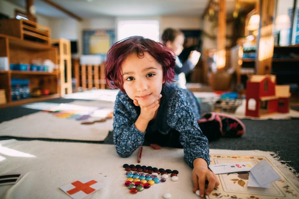 Lower Elementary Montessori work